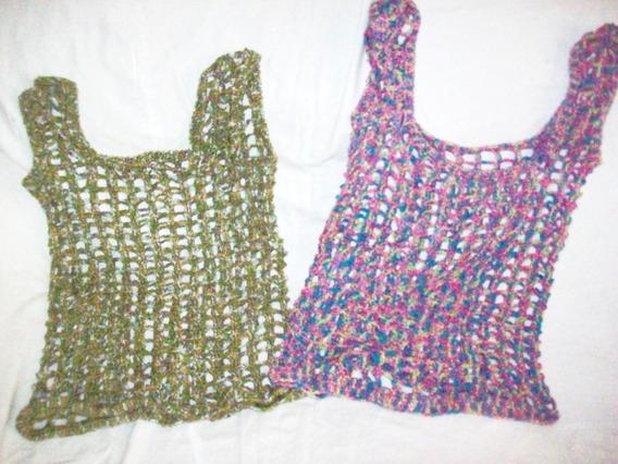 Aurojul Musculosas 2 Colorestejida Tejidas Crochet- Hilo