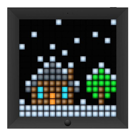 Painel De Led Inteligente Smart Pixel Divoom Pixoo Rgb Preto