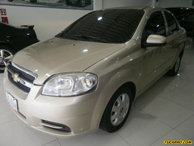 Chevrolet Aveo Lt Sincronico