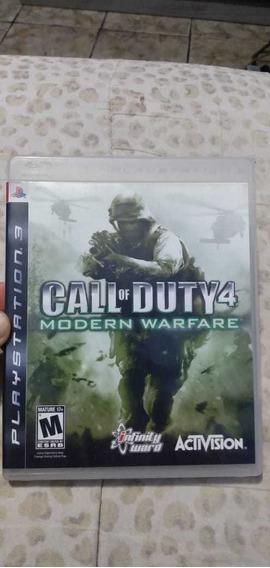 Jogo Call Of Duty 4 - Modern Warfare Original Para Ps3