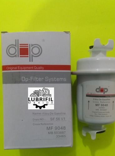 Filtro De Gasolina Mf- 9048 Dakar / Vitara / L300