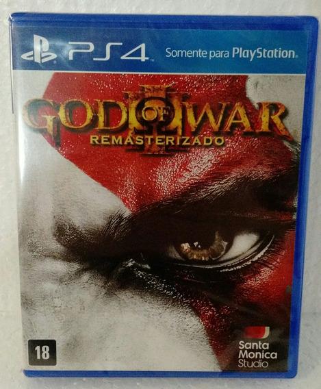 God Of War Iii - Remasterizado - Ps4 - Novo - Lacrado
