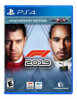 Juego Ps4 F1 2019 Anniversary Edition