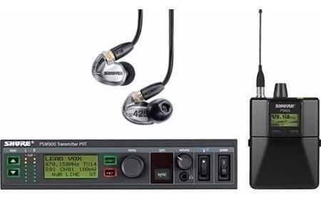 Ear Phone Shure Psm900 C/ear Se425