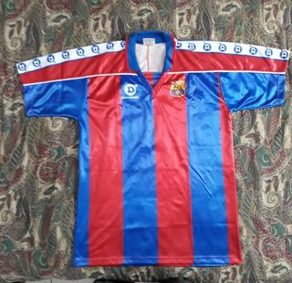Camisa Barcelona Antiga Dell