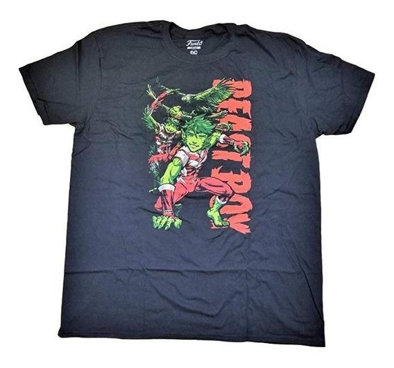 Funko Pop! Tees Camisa T-shirt Marvel Dc Comics Star Wars