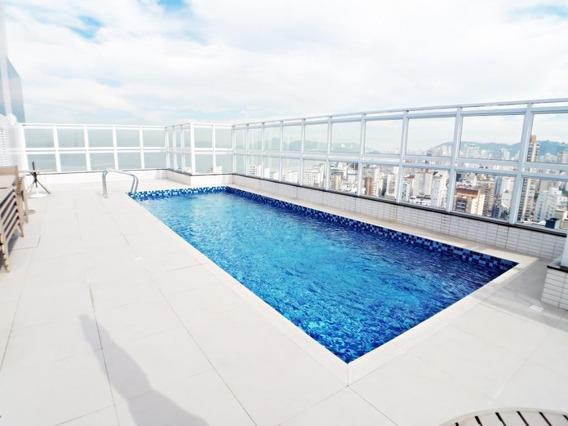 Apartamento Em Embaré, Santos/sp De 52m² 1 Quartos Para Locação R$ 3.500,00/mes - Ap328110