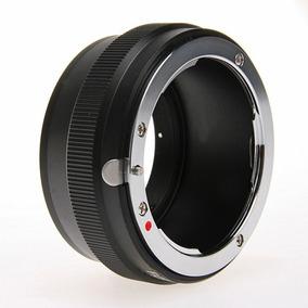 Adaptador Fotga Câmera Sony Com Lente Nikkor (nikon - Nex)