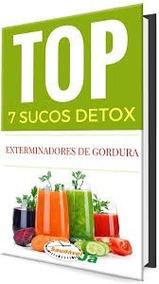 Livro Top 7 Sucos Detox