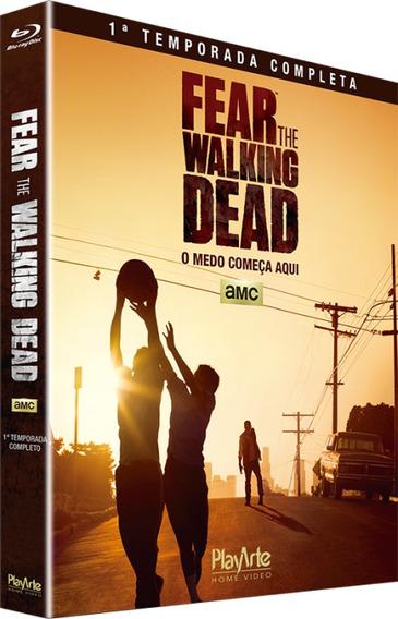 Blu-ray Fear The Walking Dead 1ª Temp C/luva Lacrado