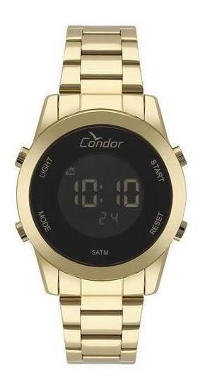 Relógio Feminino Digital Condor Cobj3279aa/4p Dourado