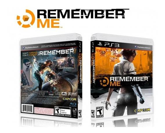 Remember Me Ps3 Mídia Física Usado