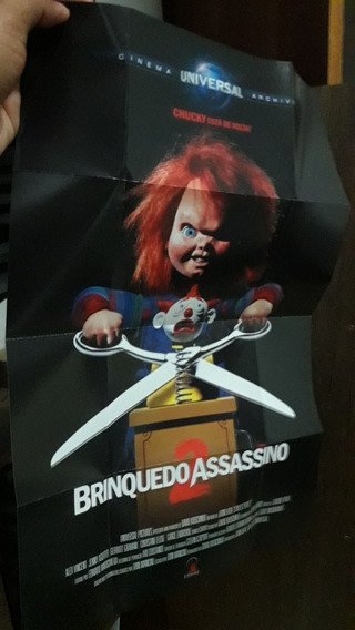 Poster Original Brinquedo Assassino 2 E 3