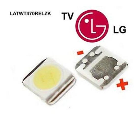 Led Tv Modelo LG 1210 3528 2835 1 W 100lm Blanco Frio X30u