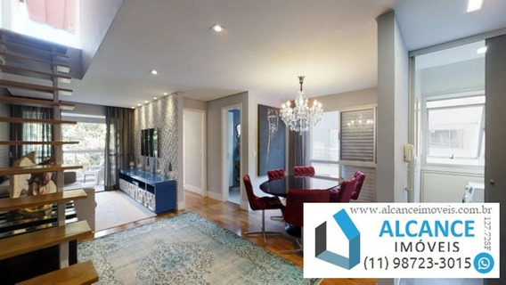 Apartamento Duplex À Venda Com 2 Quartos 134,15 M² E 2 Vagas - Vila Madalena - São Paulo/sp | Alcance Imóveis - Ap00161 - 34234868