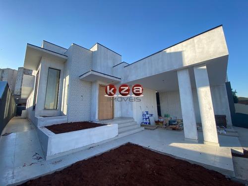 Imagem 1 de 30 de Casa Térrea 3 Suítes E Piscina A Venda Em Condomínio Fechado Em Valinhos - Ca01815 - 68386066