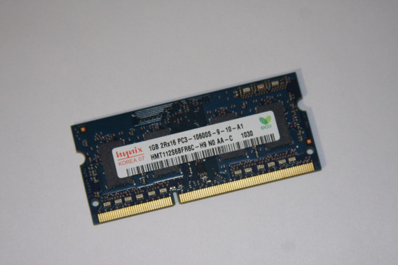 Memoria Ram Notebook 1gb Ddr3 10600 Hynix