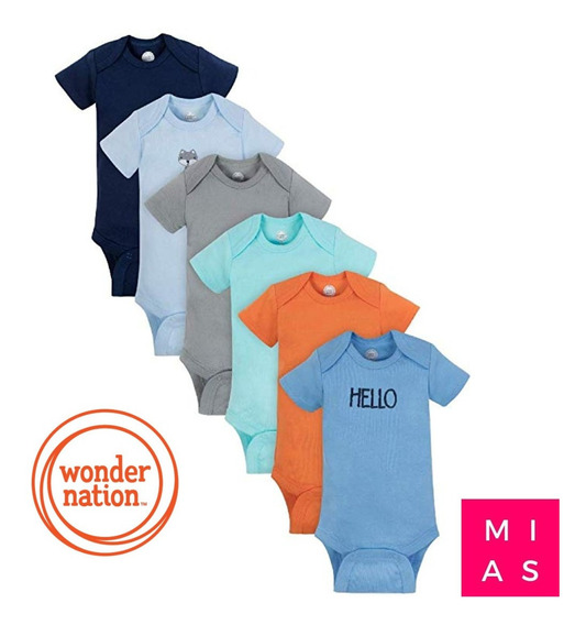 Set 6 Body Carters Wonder Nations Niño