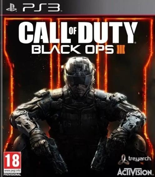 Call Of Duty Black Ops 3 Pt Br Ps3 - Leia Descrição