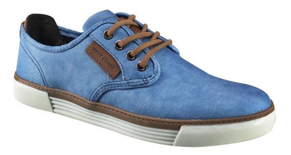 Sapatênis Masculino West Coast Jeans Lona Moderno 187403-5