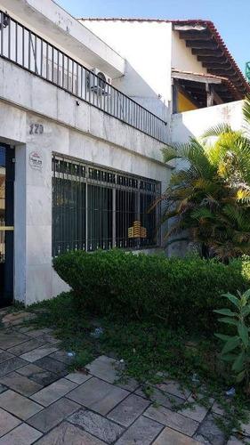 Sobrado Para Alugar, 300 M² Por R$ 6.000,00/mês - Jardim Do Mar - São Bernardo Do Campo/sp - So0168