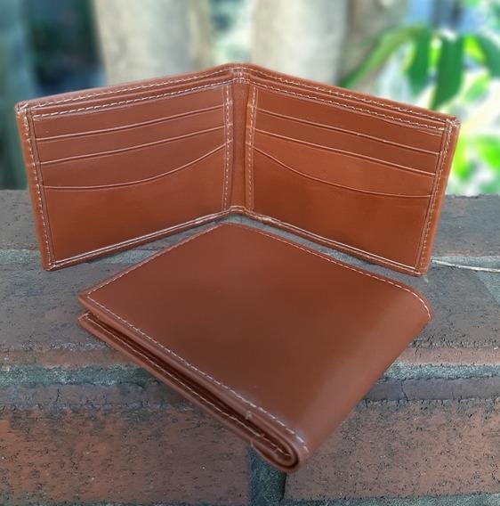 Billetera Dolar De Cuero Orifaz. Art. 8010
