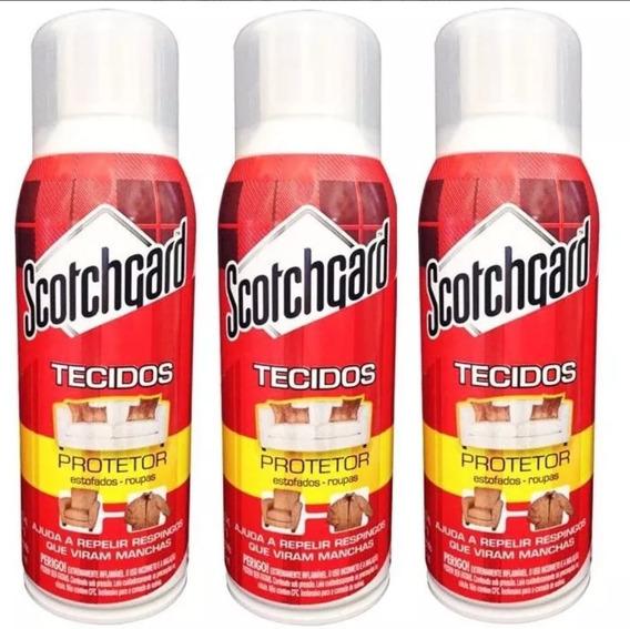 Kit Scotchgard Protetor De Tecidos 353ml Com 3 Unidades 3m