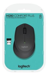 Logitech Mouse M280 Wireless Mouse Black