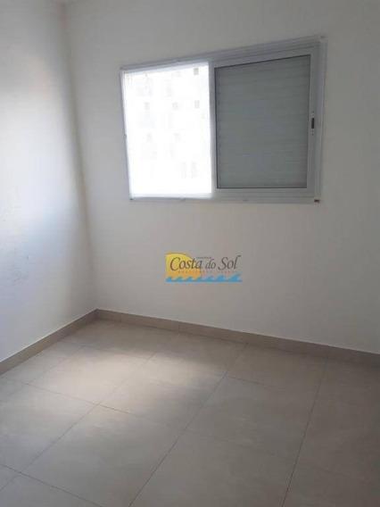 Apartamento Com 2 Dormitórios Para Alugar, 75 M² Por R$ 3.000,00/mês - Boqueirão - Praia Grande/sp - Ap15140