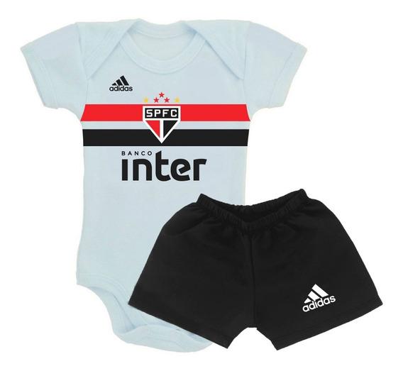 Body Bebê Time Do São Paulo - Enxoval Infantil Personalizado