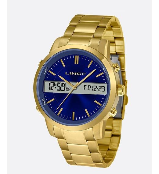 Relógio Masculino Lince Mag4489s D1kx Barato