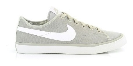 Tenis Masculino Nike Primo Court Leather Cinza Casual -2bros