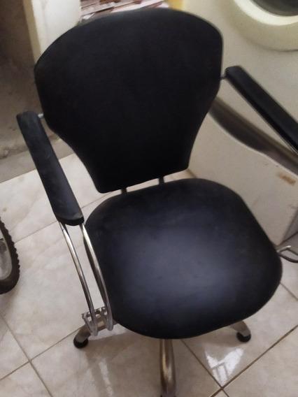 Sillas De Peluquería Y Barbería Giratoria Dos