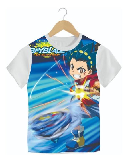 Camiseta Infantil Beyblade Mod06