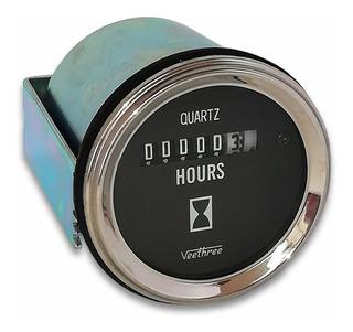 Horometro Universal Veethree 10-28v 52mm (envío Gratis)