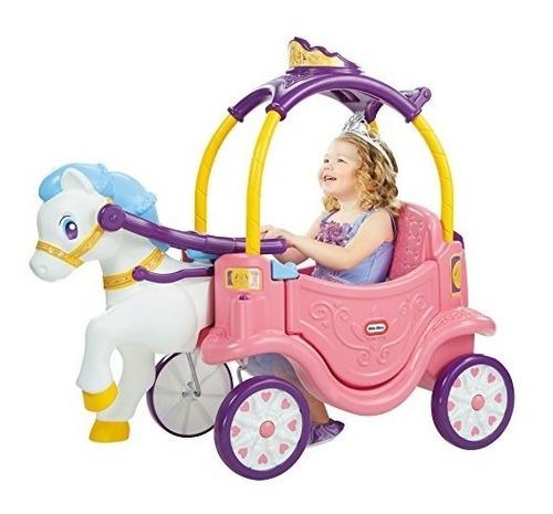 Little Tikes Princess Horse Carro Carruaje Coche Paseador