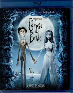 El Cadaver De La Novia Tim Burton Pelicula Original Blu-ray