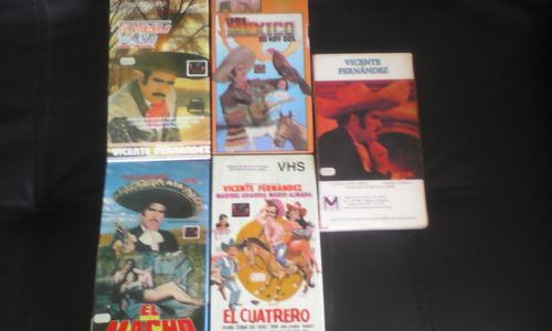 Vicente Fernandez Coleccion 15 Peliculas Vhs Envio Gratis Mercado Libre
