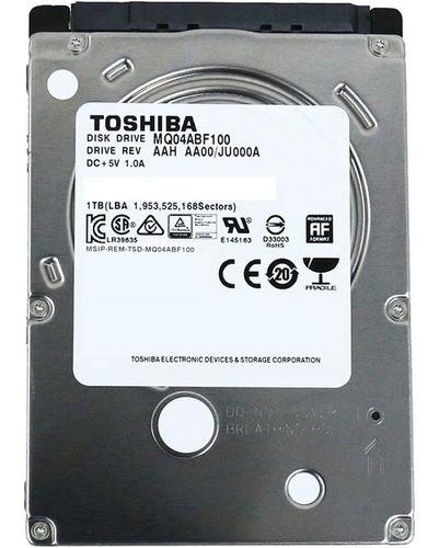 Disco Duro Portátil 1 Tera (1.000) Gigas. Sata. Toshiba