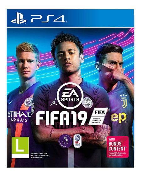 Jogo Ps4 - Fifa 2019 - Ea Sports - Conteúdo Bônus - Sony