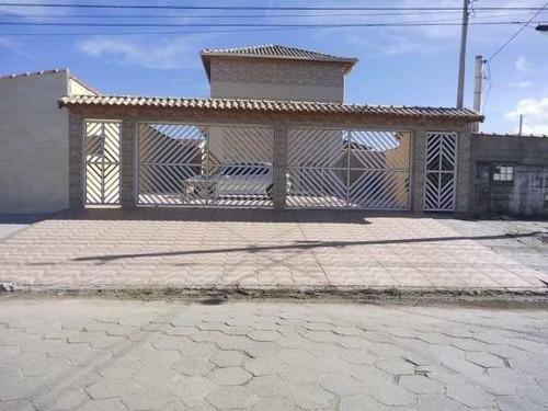 Imagem 1 de 15 de Casa Para Venda Em Mongaguá, 2 Dormitórios, 2 Banheiros, 1 Vaga - 111_1-1170792