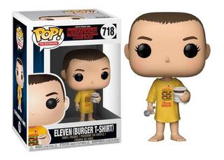 Funko Pop Eleven Eleven 718 Burger T-shirt Stranger Things B