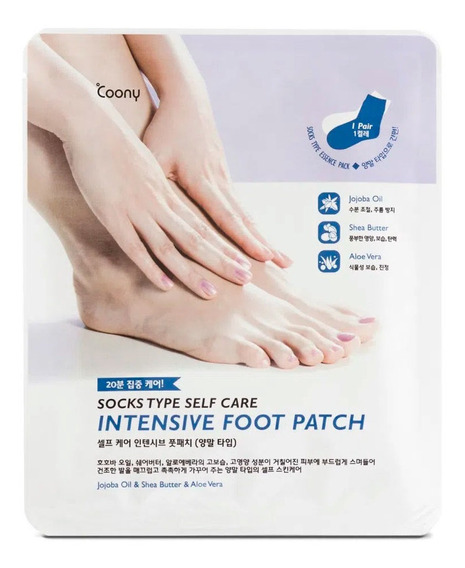 Mascarilla Coony Intensive Foot Patch Para Pies X 1 Unidad