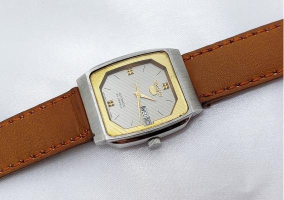 Relógio Masculino Seiko Automático Marrom