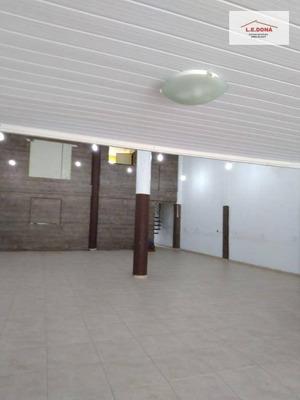 Galpão Comercial Para Locação, Jardim Ester Yolanda, São Paulo. - Ga0037