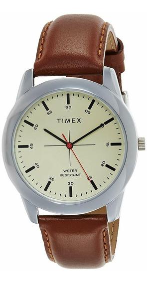 Relógio Masculino Timex Tw00zr261e - Couro - Original - Novo