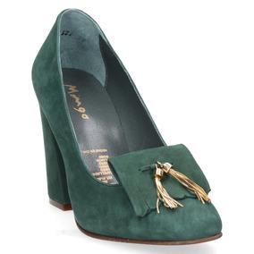 Zapato Dalí Mingo Mujer Verde - 4011