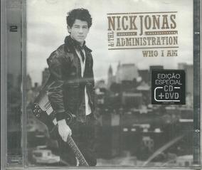 Cd + Dvd Nick Jonas & The Administration Who I Am Lacrado