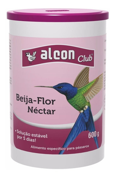 4 Unidades Alcon Club Néctar Para Beija Flor - 600 G