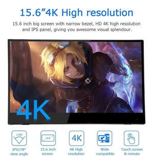 Tablet Eyoyo 15.6 4k Hdr Hdmi Monitor 3840×2160